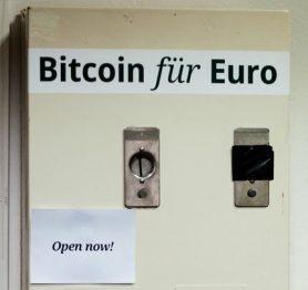 Bitcoins nu ook door de 100 euro grens