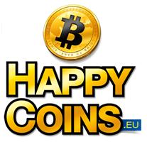 Bitcoins kopen & verkopen met Happycoins