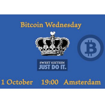 Bitcoin Wednesday Amsterdam #16: Sweet Sixteen