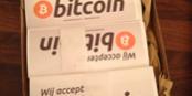 Accepteer je Bitcoins? laat het zien!