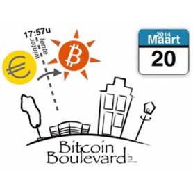 De bitcoin boulevard is er klaar voor!