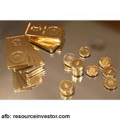 Hoeveel is een bitcoin waard uitgedrukt in goud?