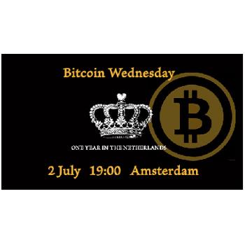 First Year Anniversary! Bitcoin Wednesday Amsterdam #13
