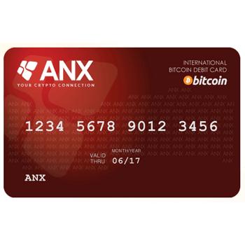 Bitcoin-exchange ANX introduceert bitcoin credit card