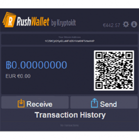 Rushwallet: Binnen 5 sec een online bitcoin wallet
