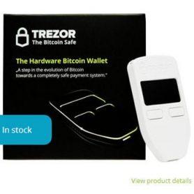 Trezor bitcoin-safe nu te koop