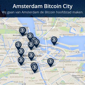 """Amsterdam Bitcoin City gaat voor de titel van """"Bitcoin hoofdstad"""""""