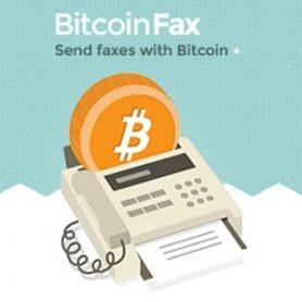 Een fijne use case: Faxen met bitcoins via bitcoinfax.net