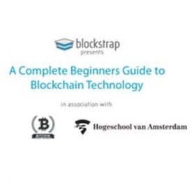 Blockstrap presents: A Complete Beginners Guide to Blockchain Technology - 26 juni HVA Amsterdam
