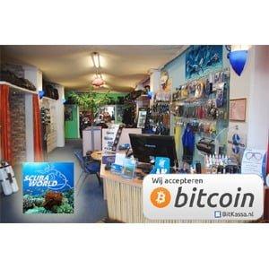 Scubaworld te Arnhem accepteert bitcoins
