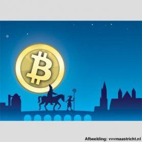 Stijgende en dalende Bitcoin koers verklaard door die man met mijter en baard