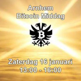 Zaterdag 16 januari: Bitcoinmiddag in Arnhem Bitcoinstad