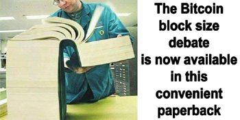 """Het Blocksize debat: oftewel het """"probleem"""" wat misschien helemaal geen probleem is"""