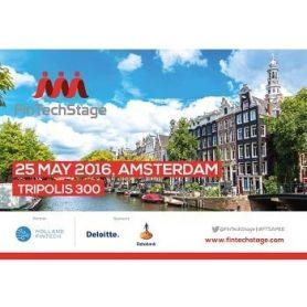 25 mei 2016: Fintechstage Amsterdam