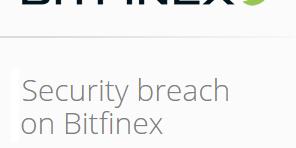 Bitcoin-koers onderuit na diefstal bij Bitcoin-beurs Bitfinex