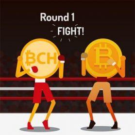 De Bitcoin koers daalt flink en Bitcoin Cash haalt Ethereum in. Wat is er aan de hand?
