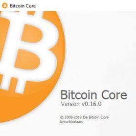 Bitcoin-core versie 0.16.0 is uitgebracht.