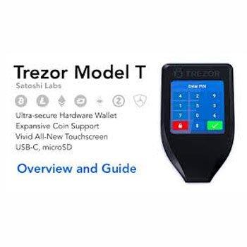 Getest door bitcoinspot.nl: De Trezor model T hardware-wallet. op 15 maart 2018.