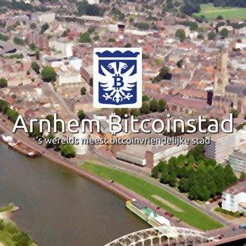 Zondag 27 Mei: Arnhem Bitcoinstad 4 jaar