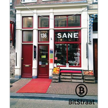 Salad Bar SANE in Amsterdam, accepteert bitcoins