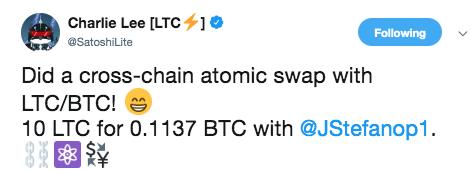 Atomic Swap Litecoin Bitcoin