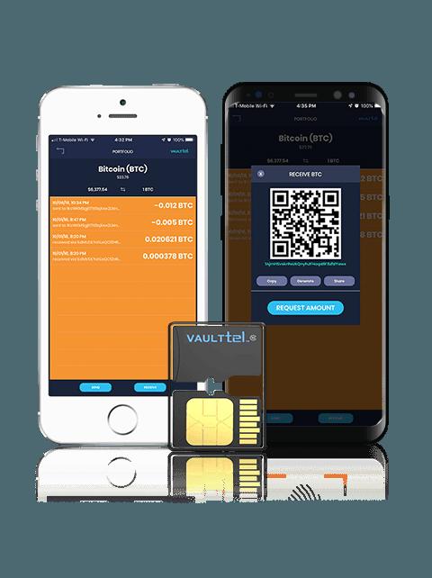 VaultTel wallet