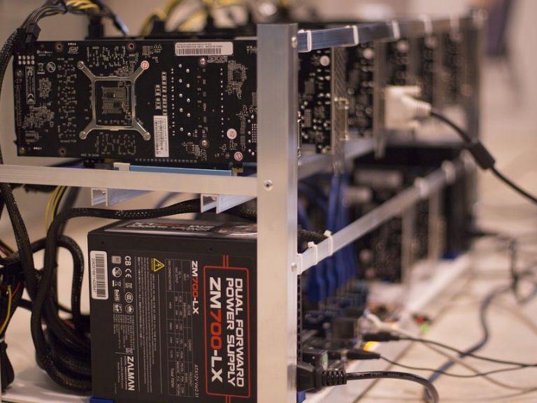 dalende hash rate bitcoin