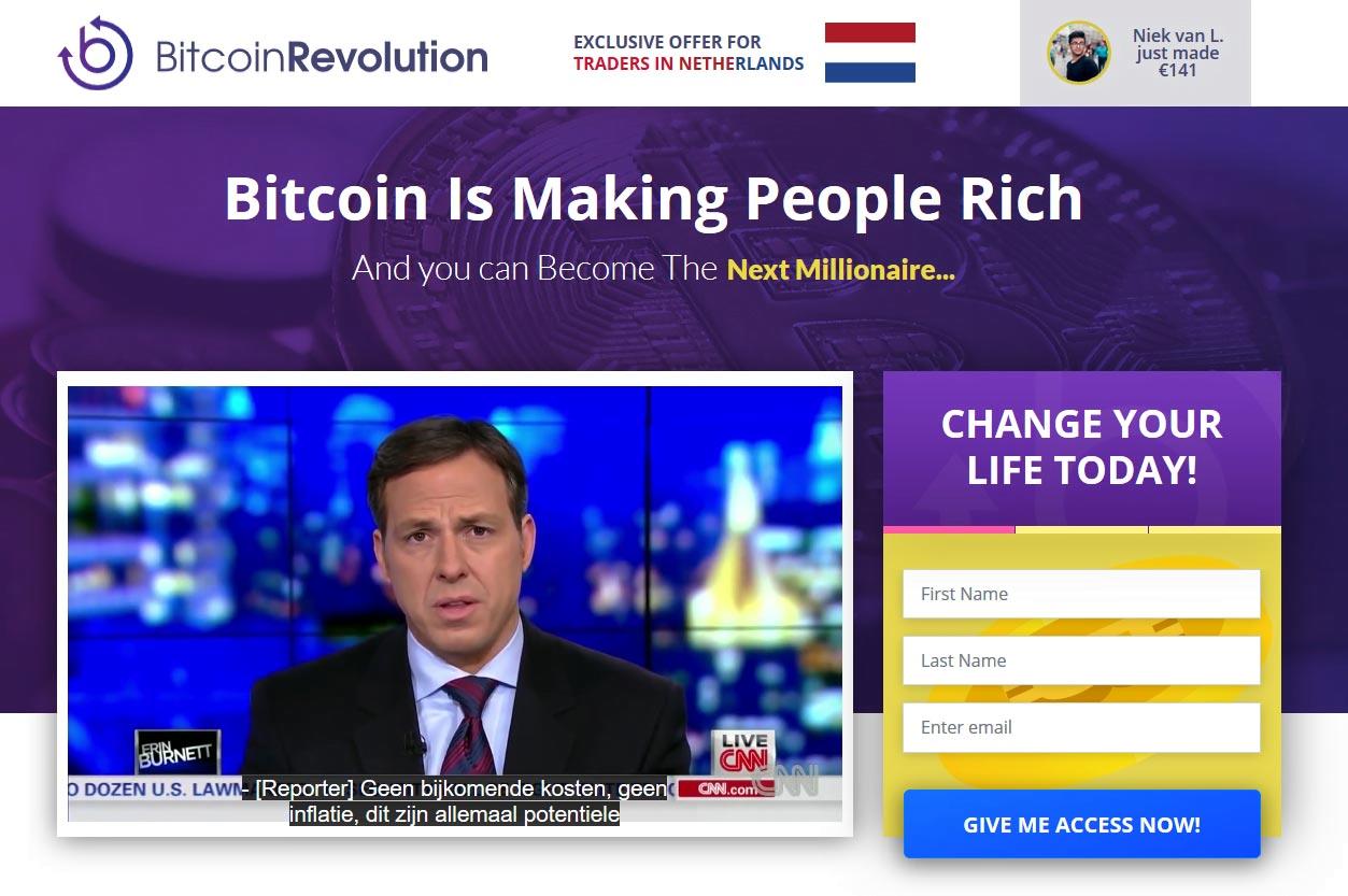 bitcoin oplichting