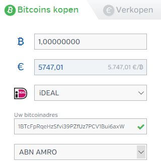 Bitcoins kopen via Bitonic