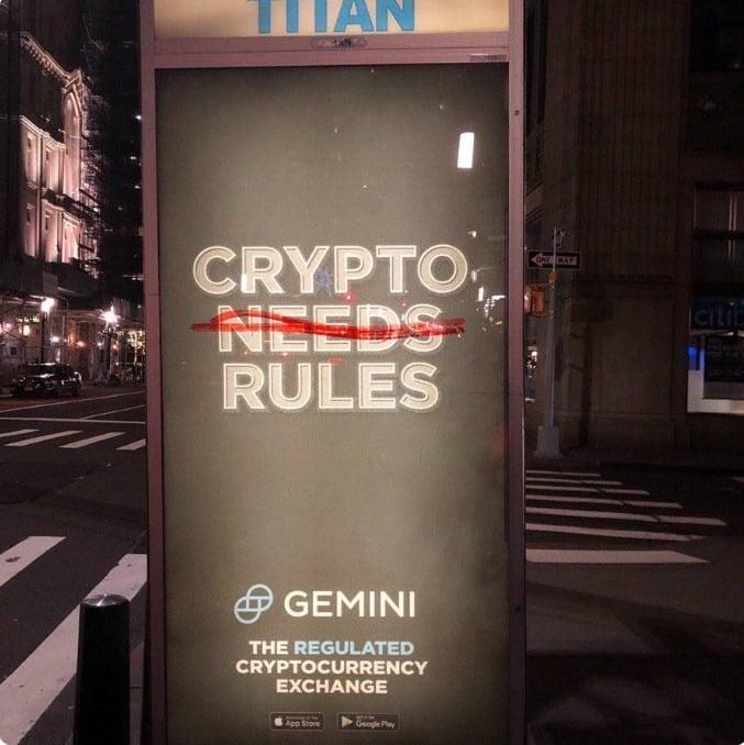 gemini bitcoin regels