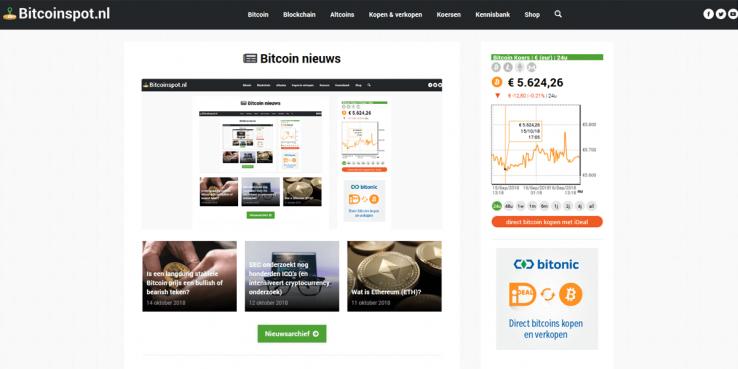 Bitcoinspot.nl vernieuwd