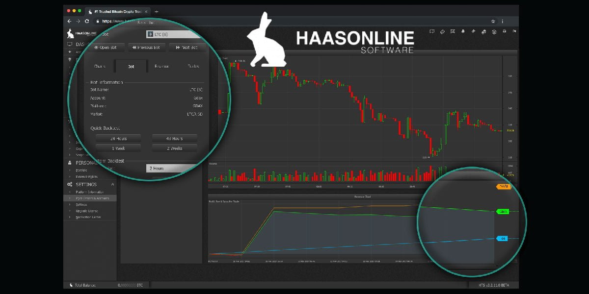 Haasbot cryptocurrency trading platform
