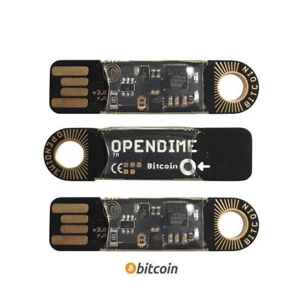 Opendime bitcoin wallet