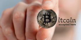 wij accepteren bitcoin